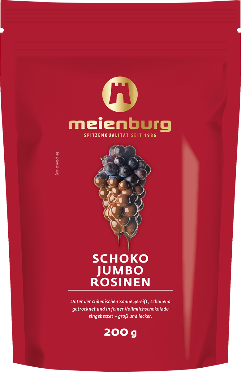 Schoko-Jumbo-Rosinen 200g