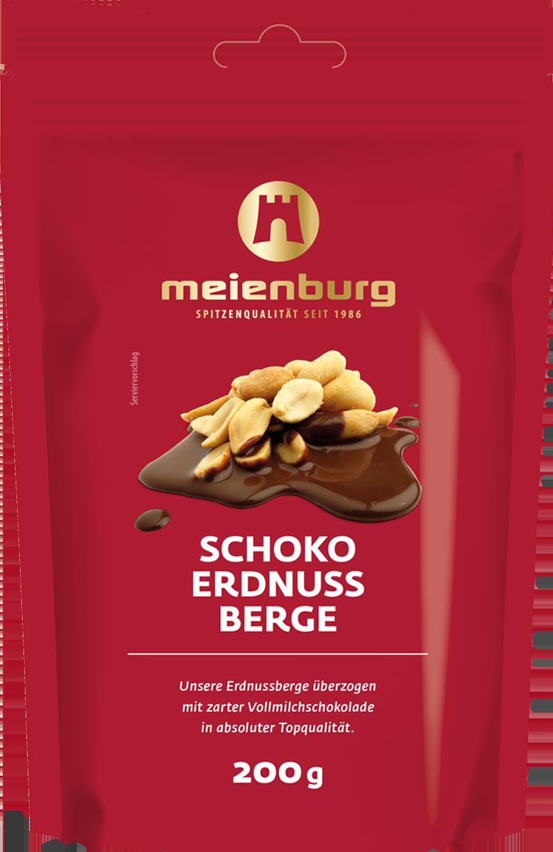 Schoko-Erdnuss-Berge 200g