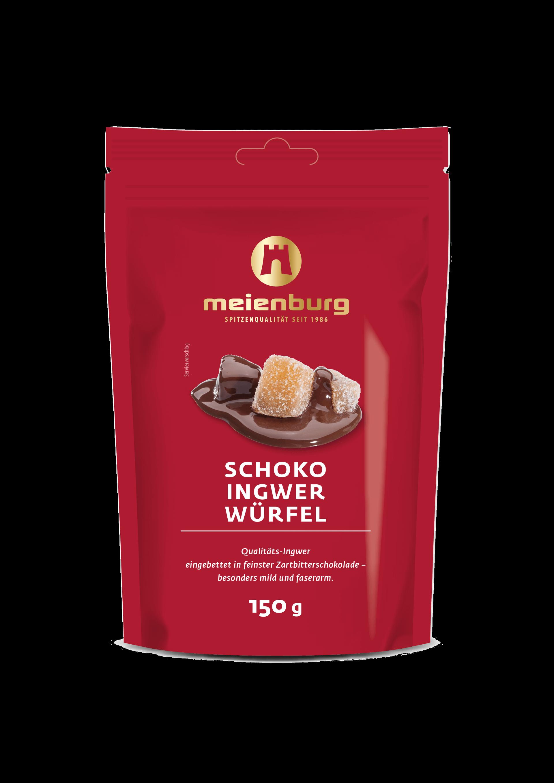 Schoko-Ingwer Würfel 150g