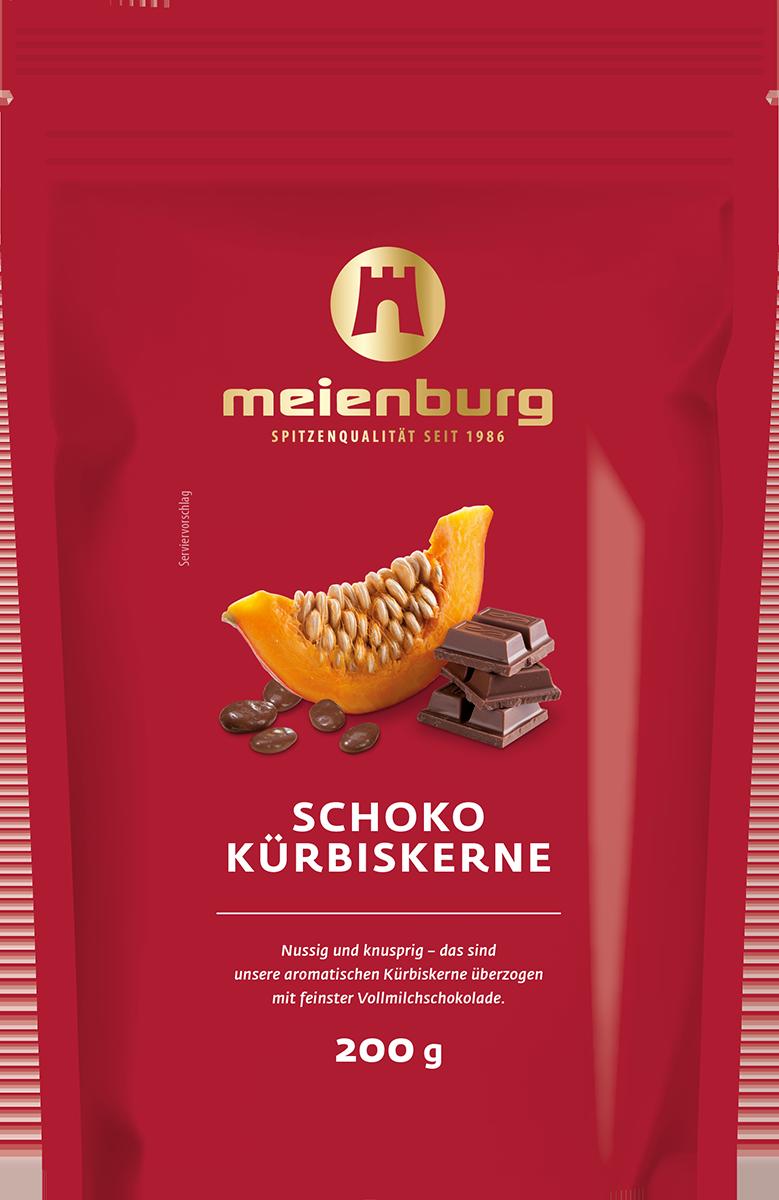 Schoko-Kürbiskerne 200g