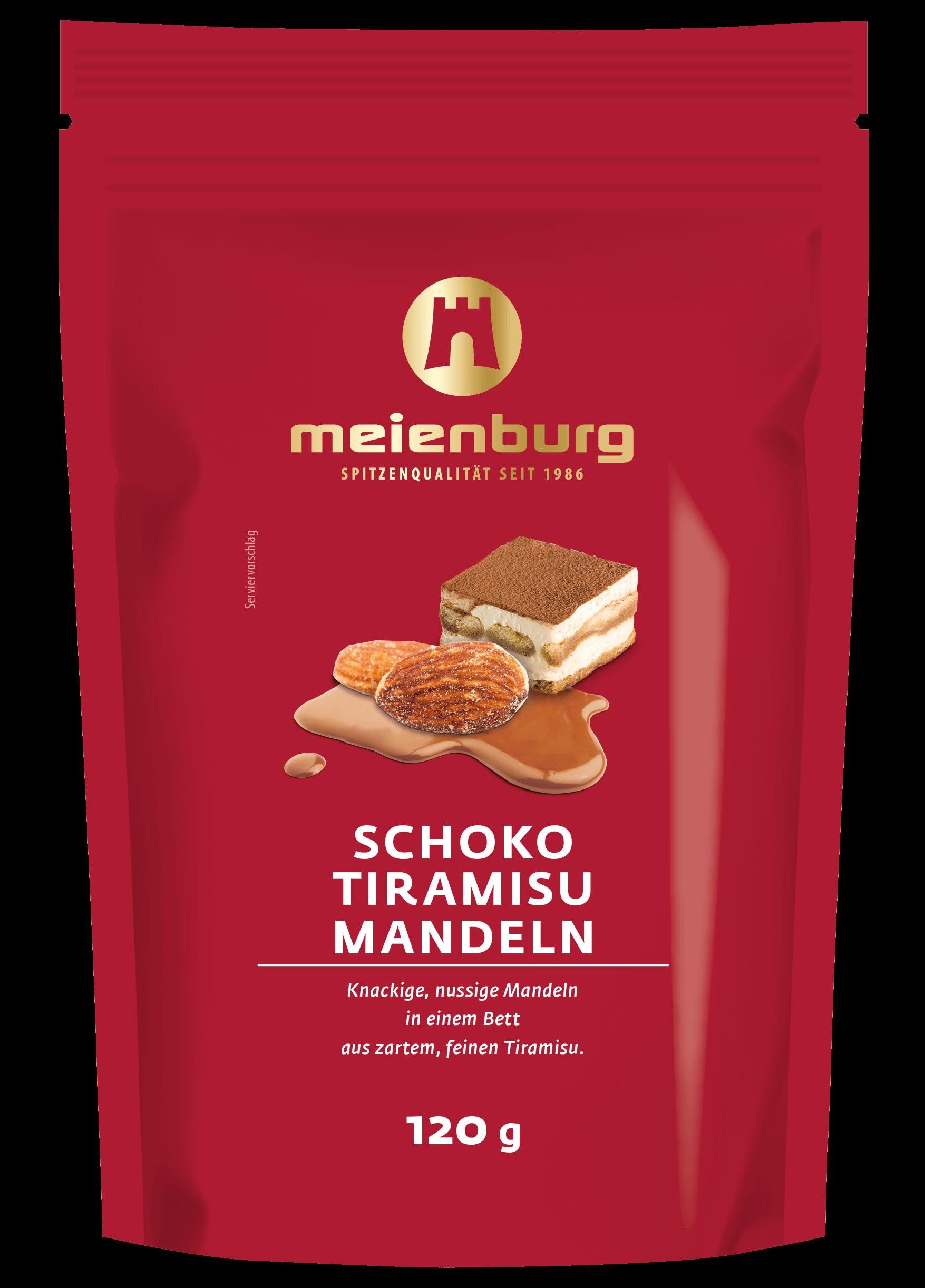 Schoko-Tiramisu Mandeln 120g